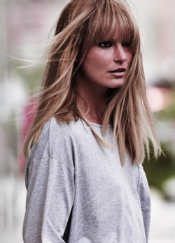 blonde long hair highlights